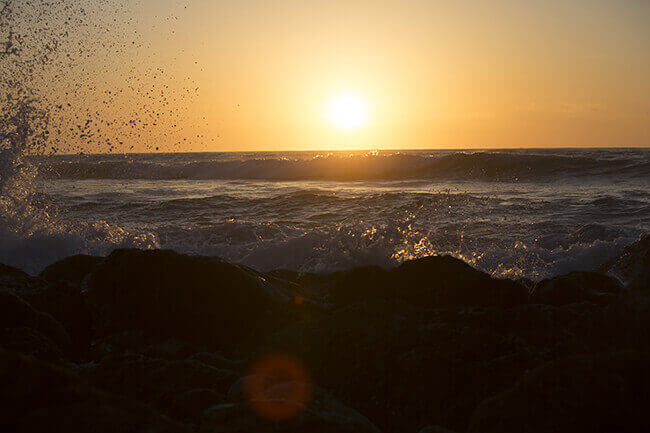 Dr. Latner Photography of sunrise above ocean