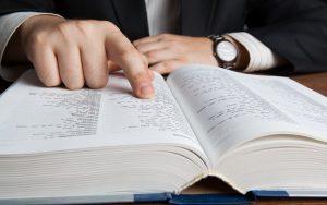 examining dictionary